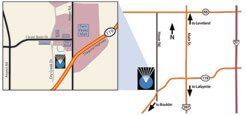 Boulder Eye Care & Surgery Center Doctors longmont map - longmont office map image