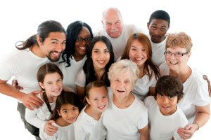 Boulder Eye Care & Surgery Center Doctors multicultural family 300x200 - Get The Whole Family In For An Eye Exam