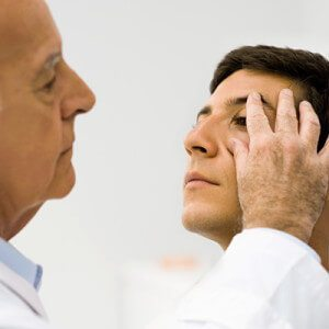 Male doctor & Patient
