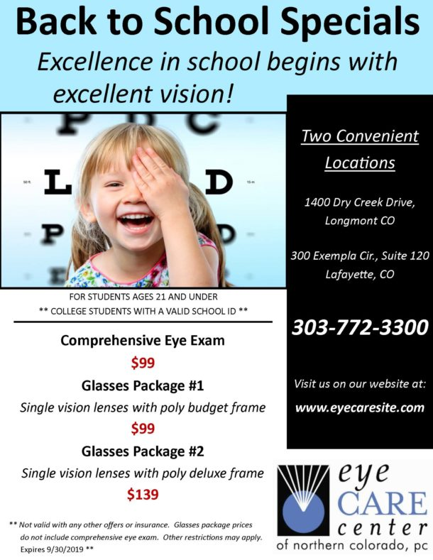 Boulder Eye Care & Surgery Center Doctors Back to School 2019 610x789 - Prescription Glasses & Sunglasses
