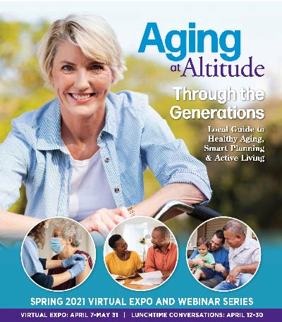 Boulder Eye Care & Surgery Center Doctors aging 2021 mag - Aging at Altitude virtual expo - now through May 31